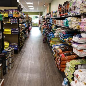 Dog and Cat Food Aisle in Exeter, NH