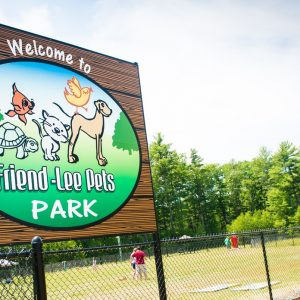 Friendly Pets Dog Park in Lee NH